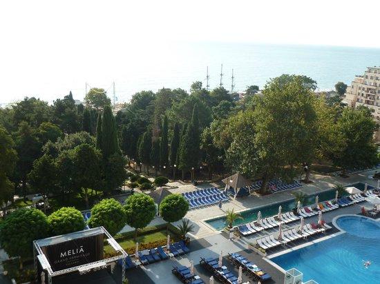 Melia Grand Hermitage : vista desde la habitación