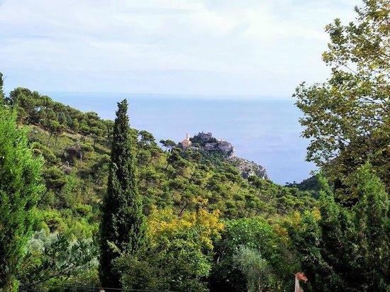 La Bergerie d'Eze: La vista dalla terrazza