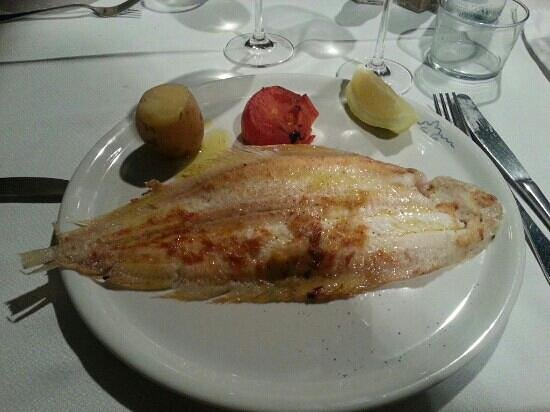 Can Tito: Sole grillée excellente