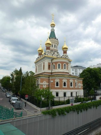 Russian Orthodox Cathedral of St. Nicholas: The church.