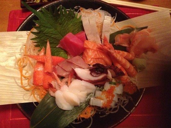 Benihana: Sashimi deluxe