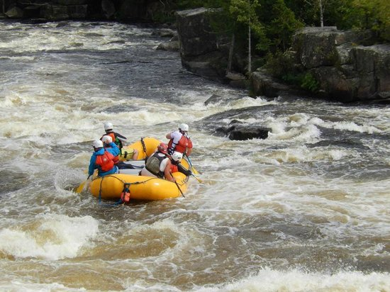 North Country Rivers: Down the river!