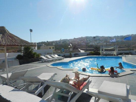 Milos Villas: piscine