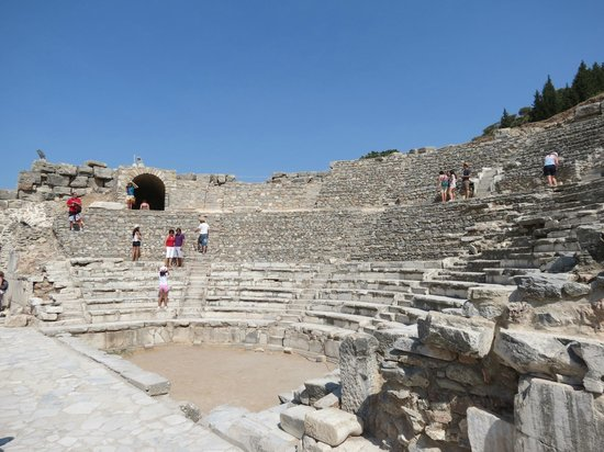 The Odeion: From further back