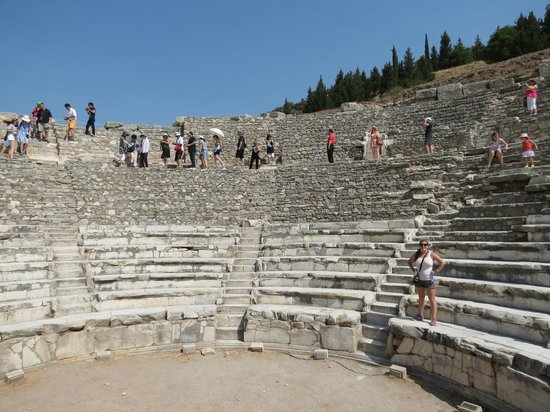 Inside the Odeion