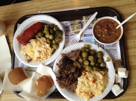 Snack Bar at Weaver Markets: hot dish platter