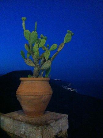 The Lemon Tree: Castelmola by night