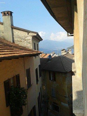 Hotel Pironi : Blick aus dem Zimmer