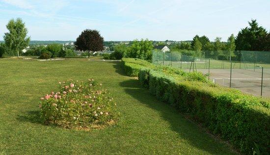 Novotel Amboise : Tennis courts