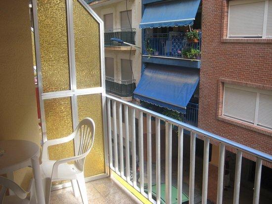 Hotel Brasil: Balcony