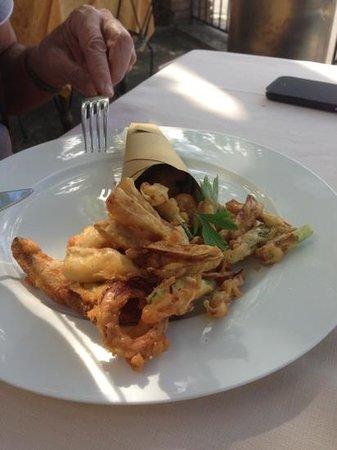 B&B Locanda di Pietracupa: fritto misto
