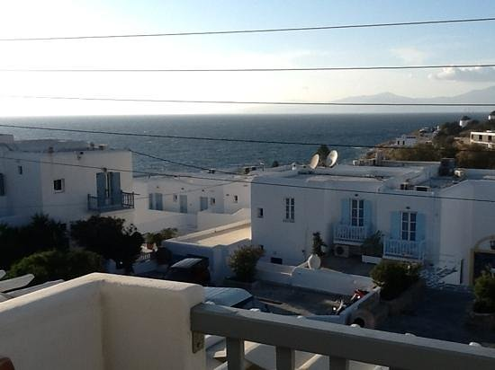 Adonis Hotel: View from my room.
