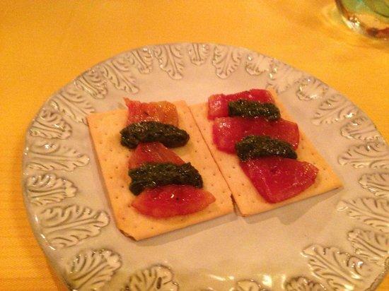 Ristorante 12 Apostoli: glutenfree appetizer