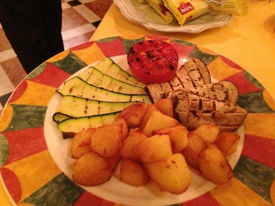 Ristorante 12 Apostoli: grilled vegetable