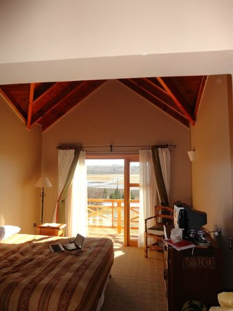 Hosteria los Hielos: habitacion con balcon