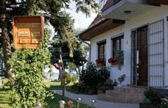 Ferienhaus Sturm: Der Eingangsbereich des Hauses