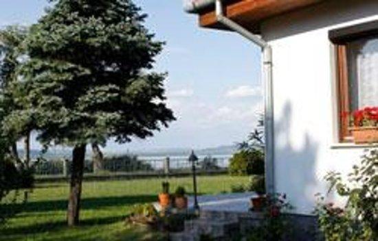 Ferienhaus Sturm: Blick in den Garten des Hauses