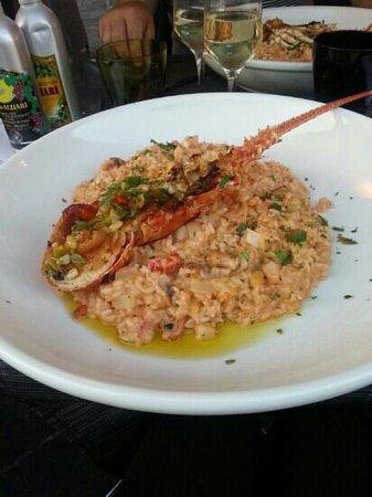 Cafe Del Arte: 1/2 Langouste et son risotto