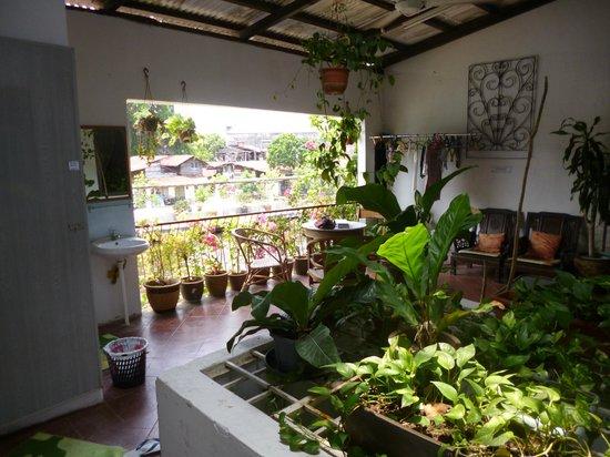 River View Guest House: Terrace