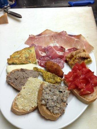 Ristorante Jacopone : antipasto assortito