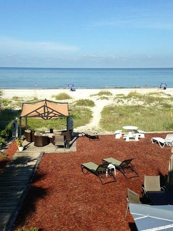 Sun N Fun Beachfront Vacation Rentals: View from room #3 deck