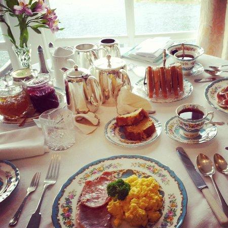 Glenegedale Guest House : Ottima colazione