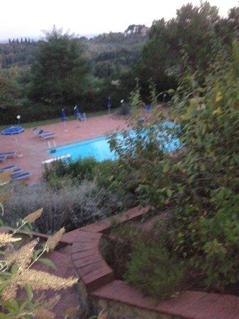 Villa Agostoli: la piscina