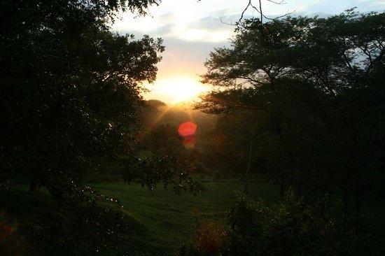 Sambiya River Lodge: eventueel ontbijt met zonsopgang