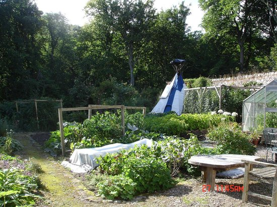 Culgower House: The tipi and the garden