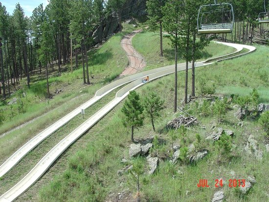 Rushmore Tramway Adventures : From chair lift