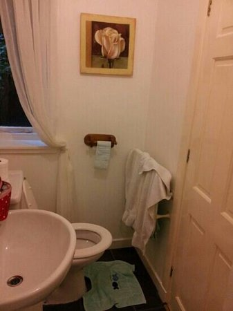 Maridon Guest House: a tad small but towel rail nice and warm ;-)