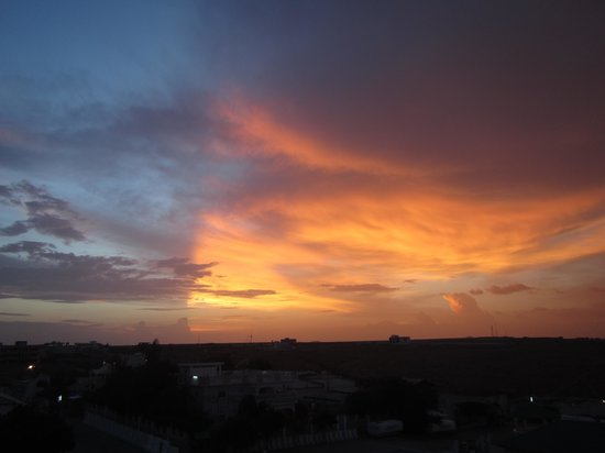Hargeysa, Somalia: Sunset from Ambassador roof terrace