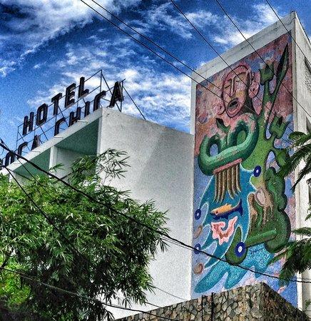 Boca Chica Hotel: Mid-century mural