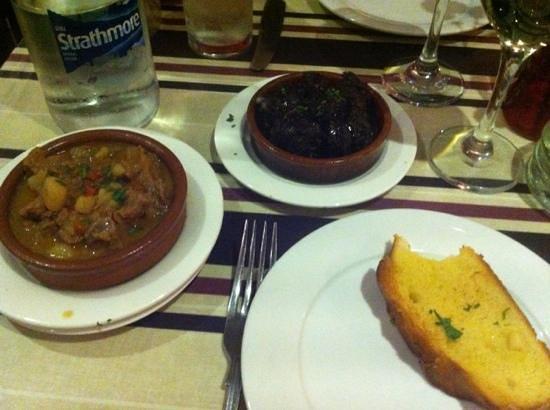 Malaga Tapas : lovely black pudding