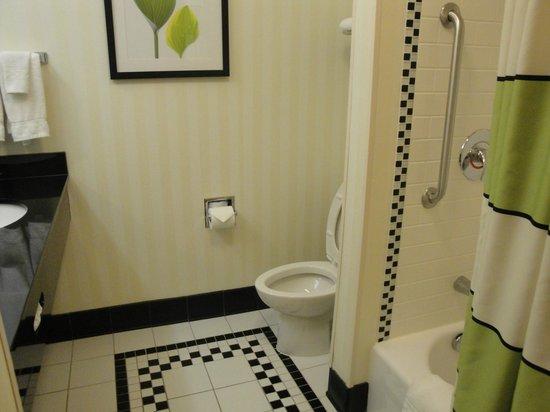 Fairfield Inn & Suites Gillette: bagno
