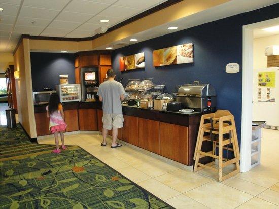 Fairfield Inn & Suites Gillette: Sala colazione