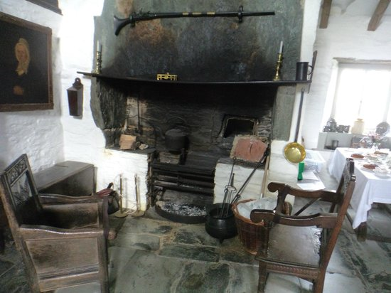 The Old Post Office : the old stove