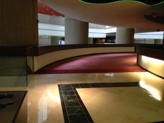 Detroit Marriott at the Renaissance Center: Ominous Brutalist Interior