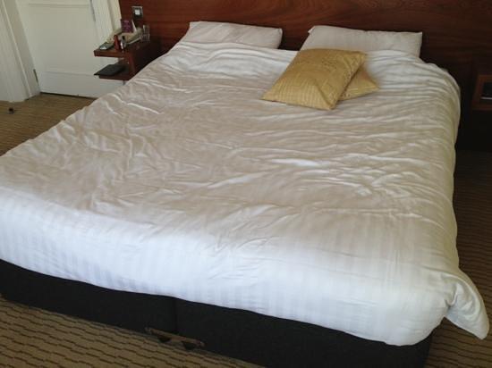 Mercure Brighton Seafront Hotel: lumpy bed