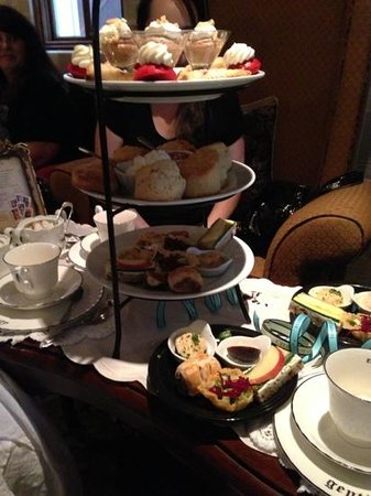 The St. James Tearoom: tea food