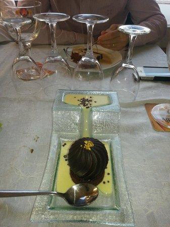 La Presqu'ile: Géode au chocolat