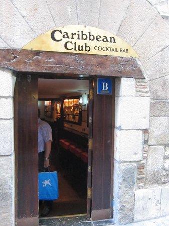 Caribbean club : ingang