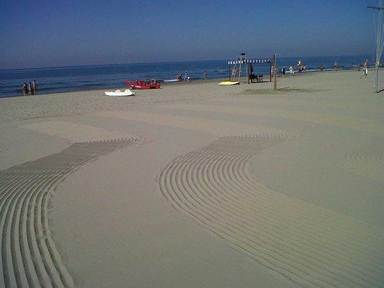 Hotel Ermione: Beach Detail