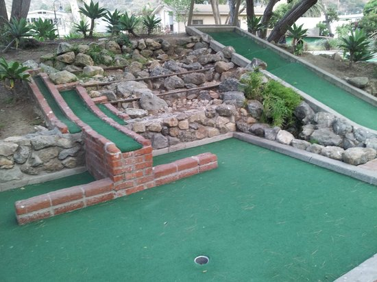 Golf Gardens Miniature Golf: Favorite hole on the course