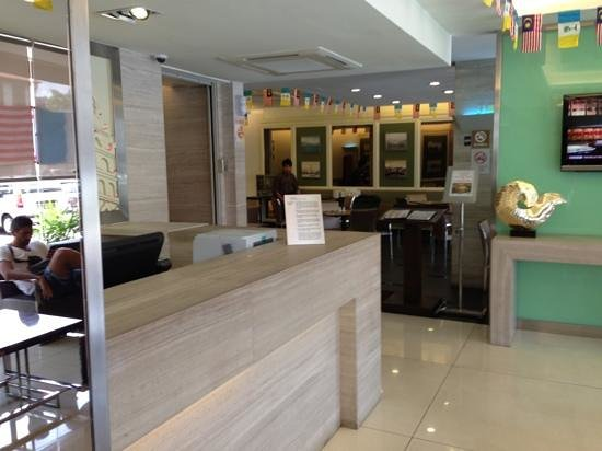 Hotel Sentral Georgetown: reception