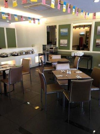 Hotel Sentral Georgetown: sala colazione