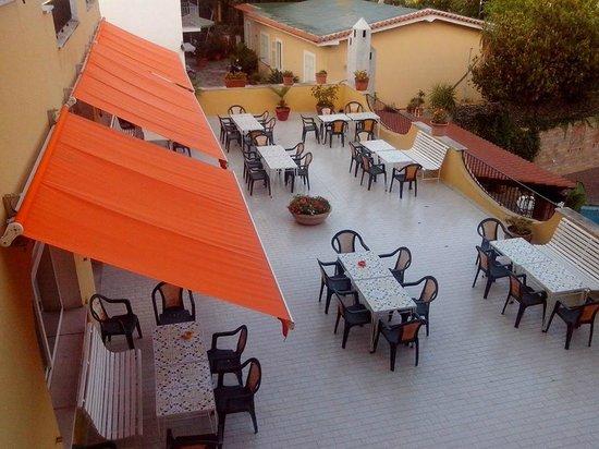 Hotel Terme Vinetum: terrazza ristorante