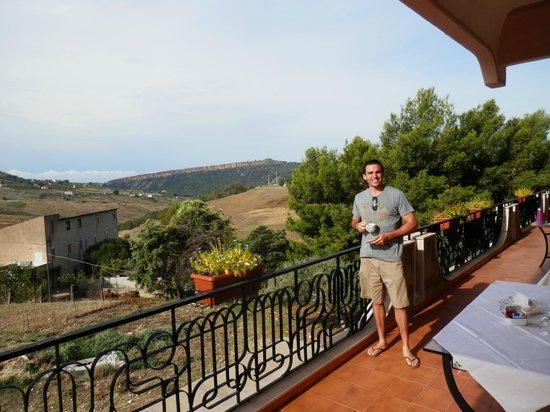 Villa Diana: Breakfast Balcony