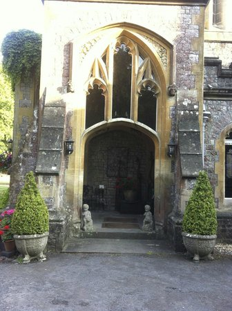 Uphill Manor: Entrance from the rear grounds