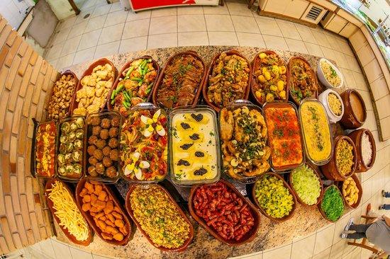 Tapera Branca Restaurante: Buffet TBI